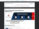 Dedicated Web Hosting Santa Monica