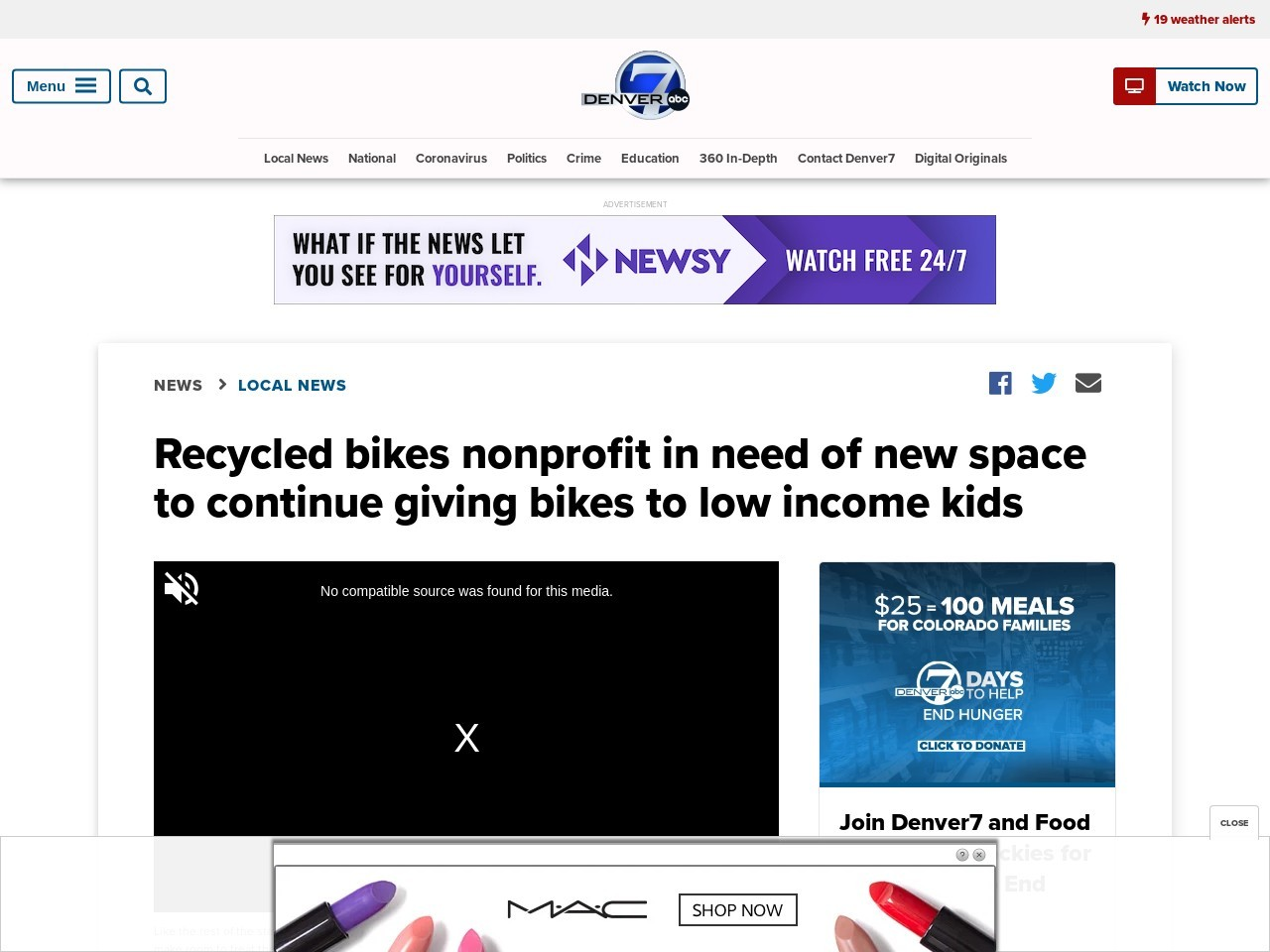 Recycled bikes nonprofit in need of new space