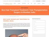 Best Hair Transplant in Mumbai, Hair Transplantation Treatment Surgery Cost, Clinics in India – The