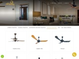 Colonial Ceiling Fans Collection in India | The Fan Studio