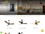 Handcrafted Ceiling Fans Collection in India | The Fan Studio