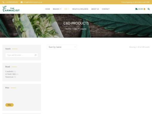 CBD Products and Skin Care Products in UK