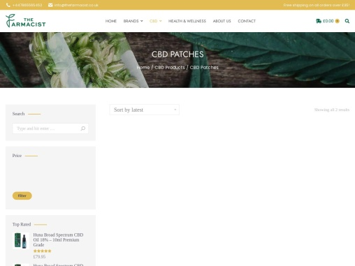 CBD Patches Archives – The Farmacist