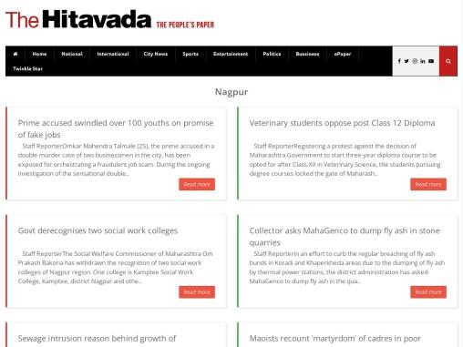 Nagpur News Today | Nagpur Latest News