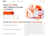Learn New skills with Online Hobby Classes