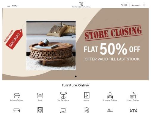 Buy Furniture Online At THE HOME DEKOR
