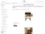 Buy bedside wooden stool in Sydney