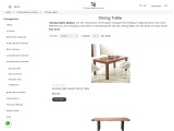 Buy Wooden dining tables in Sydney