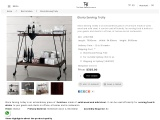 Buy Gloria Serving trolley online on discount