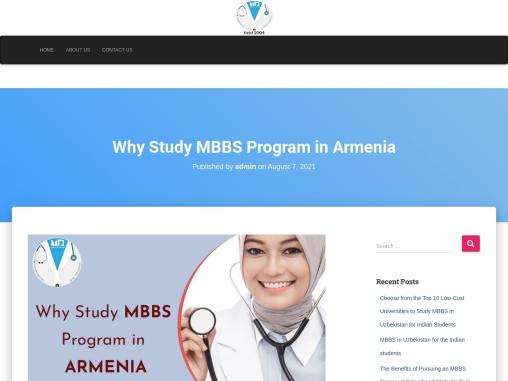 Why Study MBBS Program In Armenia