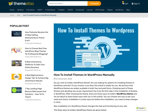 How To Install Themes In WordPress Manually