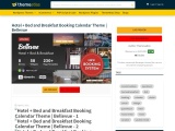Hotel + Bed and Breakfast Booking Calendar Theme | Bellevue
