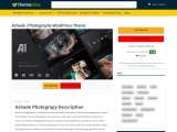 Ashade WordPress Theme – Photography WordPress Theme