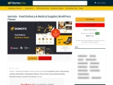Gomoto – Food Delivery & Medical Supplies WordPress Theme