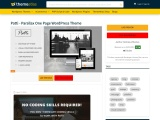 Patti WordPress Theme – Parallax One Page WordPress Theme
