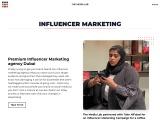 Influencer Marketing Agency in Dubai