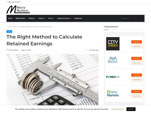 The Right Method to Calculate Retained Earnings