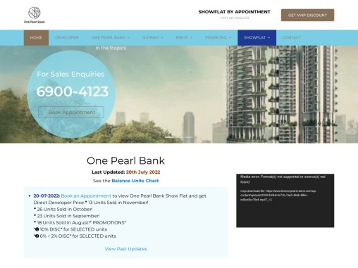 One Pearl Bank Price Pearl Bank