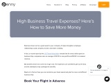 High Business Travel Expenses? Here's How to Save More Money