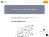 Never chase a receipt again | The Penny Inc