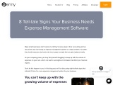 8 Tell-tale Signs Your Business Needs Expense Management Software