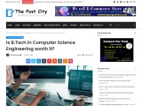 Is B.Tech in Computer science is a good career option?
