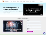The Building Blocks of Quality Management