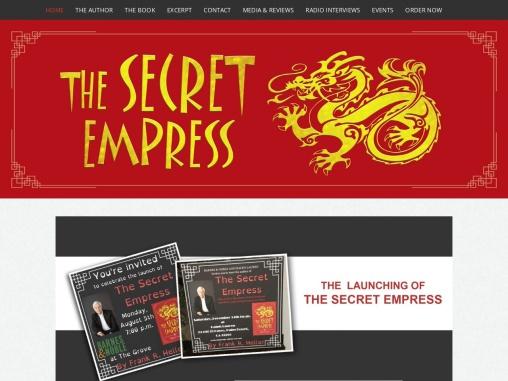 The Secret Empress By Frank Heller
