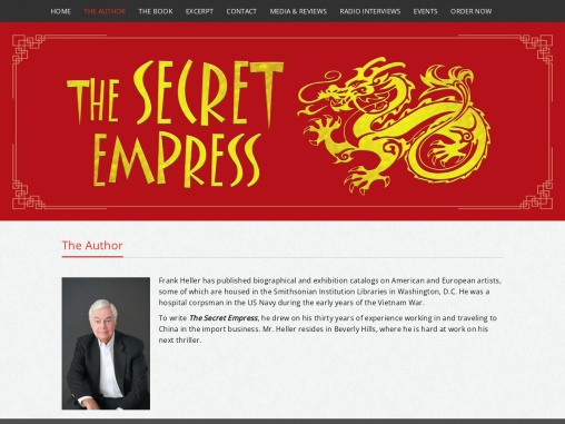 The Author | The Secret Empress