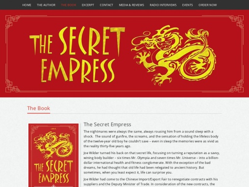 The Secret Empress | Frank Heeler