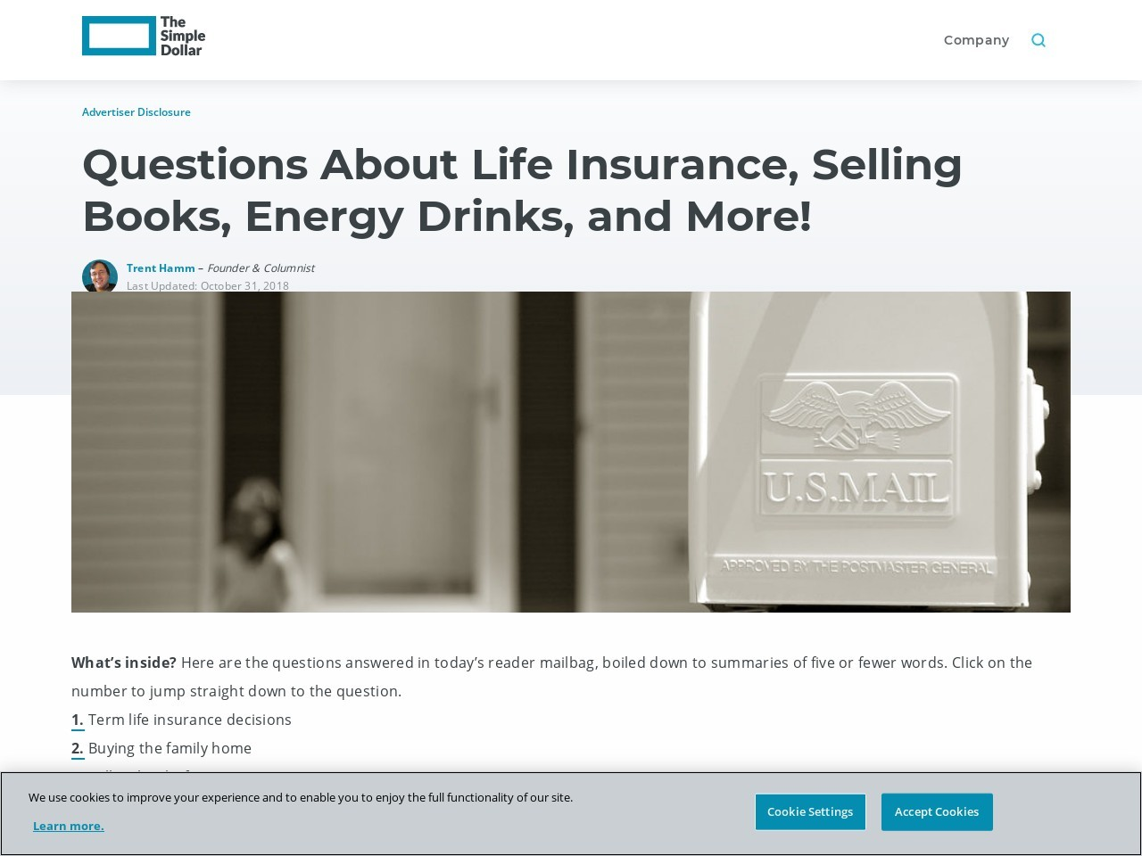 Questions About Life Insurance, Selling Books, Energy Drinks, and More!