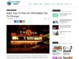 Eight Tips To Plan An Affordable Trip To Chicago