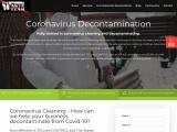 Coronavirus Cleaning, Covid 19 Cleaning Leeds, Wakefield