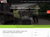 Domestic waste removal Wakefield, Leeds