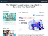 Why Modern Logo Designs Important For Boosting Your Business?