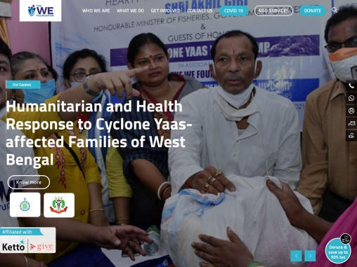 The We Foundation | NGO in Kolkata | Non Profit NGO in Kolkata | Donate Online Kolkata