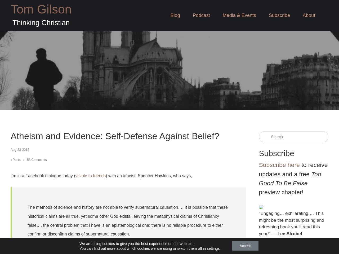 Atheism and Evidence: Self-Defense Against Belief …