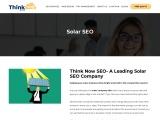 Solar Company SEO – Solar contractors SEO New Jersey