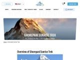 Ghorepani Sunrise Trek In Nepal