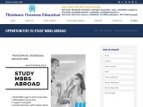 OPPORTUNITIES TO STUDY MBBS ABROAD