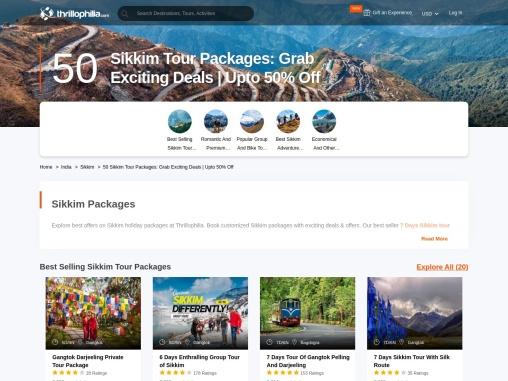 50 Sikkim Tour Packages | Trips to Sikkim