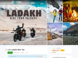 Leh Ladakh Bike Tour Package, Book & Get 5000 Cashback!