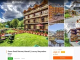 Snow Peak Retreat & Cottages, Manali   Luxury Staycation Deal