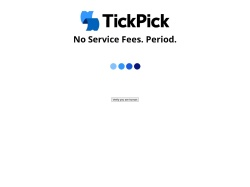 Tickpick Partner Program screenshot