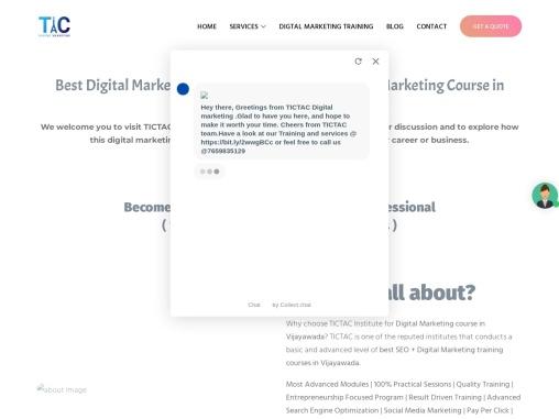 digital marketing training institute in vijayawada