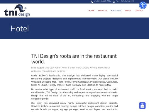 Hotel Interior Designer Washington – TNI Design