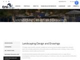 Landscape Drawing California – TNI Design