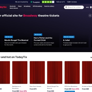 TodayTix | Theater Tickets to Musicals, Plays, Broadway Shows, More