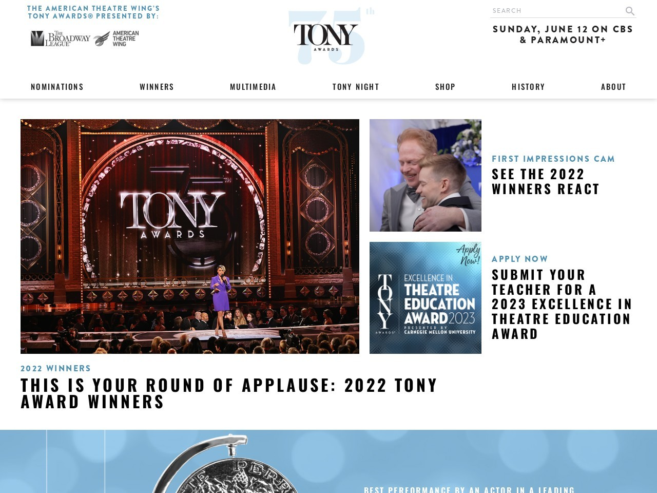 Beetlejuice | The American Theatre Wing's Tony Awards®