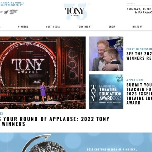 Home | The American Theatre Wing's Tony Awards®